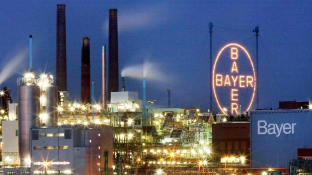 Fábricas de Bayer en en Leverkusen (Alemania)