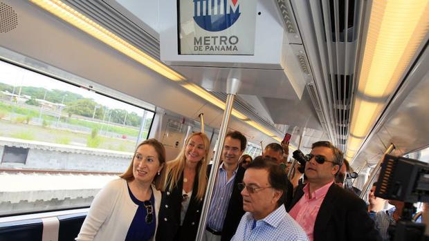 Las instalaciones del metro de Panamá
