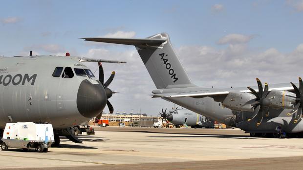 El avión A400M aporta el 26 % de las evntas del sector