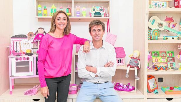 Mayol y su mujer son los creadores de la cadena de tiendas Eurekakids en 2002