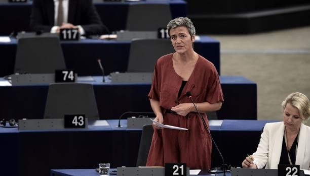 Margarete Vestager, comisaria de Competencia de la Comisión Europea