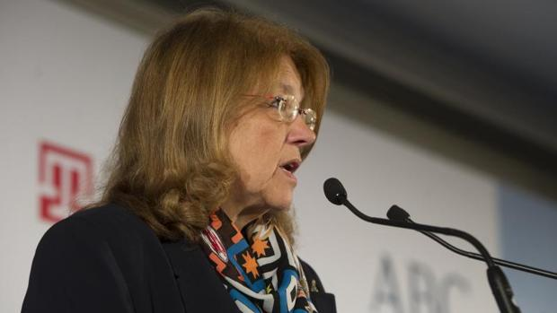 La actual presidenta de la CNMV, Elvira Rodríguez, en una imagen de archivo