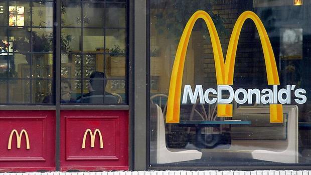 Un restaurante de McDonald's en la ciudad estadounidense de Chicago