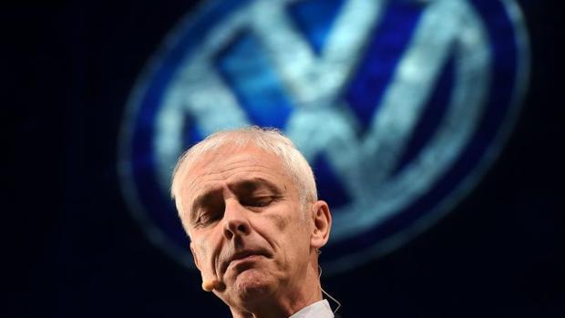 El presidente de Volkswagen, Matthias Mueller