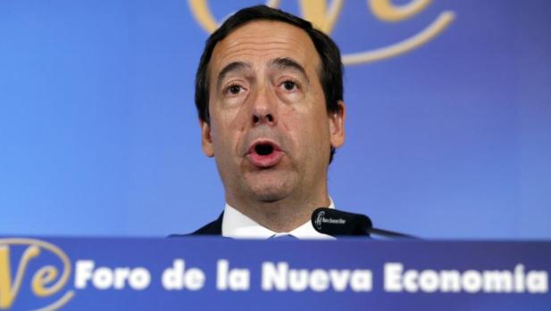 El consejero delegado de Caixabank, Gonzalo Gortázar