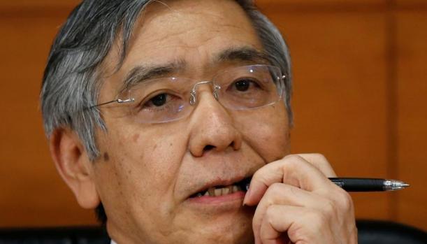 El gobernador del Banco de Japón, Haruhiko Kuroda