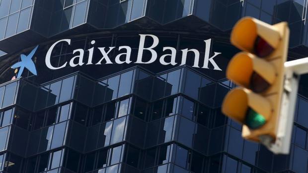 Imagen de archivo de la sede de Caixabank en Barcelona