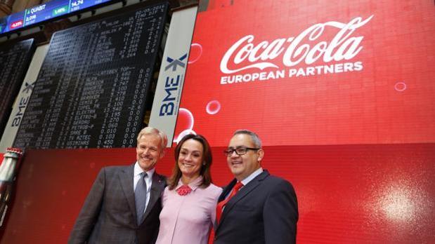 Coca-Cola European Partners otorgará su pruimer dividendo de la historia