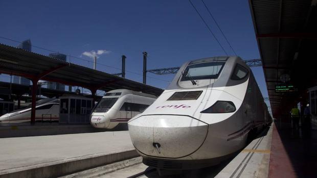 Un tren Alvia de Renfe