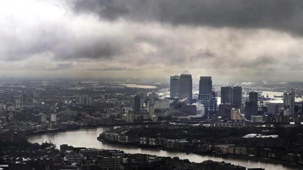 El distrito financiero de Canary Wharf, en Londres