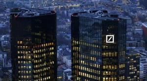 Deutsche Bank alcanza mínimos históricos en Bolsa y arrastra a los índices europeos a números rojos