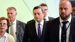 Draghi reitera que hay demasiados bancos y reclama una «consolidación» del sistema