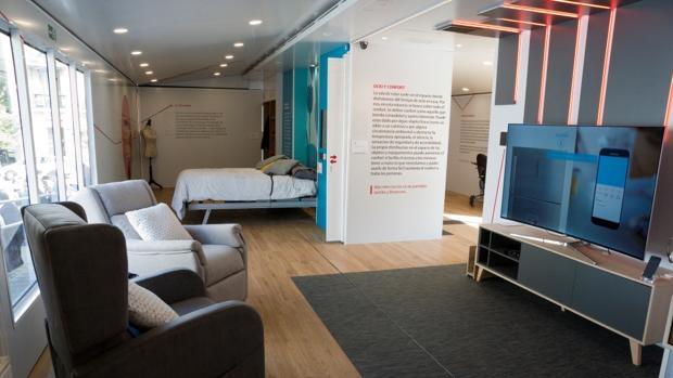 Imagen de la casa inteligente diseñada por la ONCE
