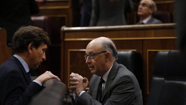 El ministro e Hacienda, Cristóbal Montoro