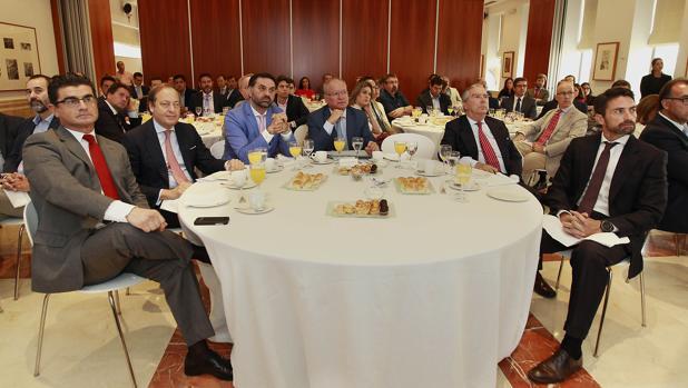 Amador Sánchez Martín, Álvaro Rodríguez Guitart, Francisco Javier Fernández, Álvaro Ybarra, Enrique Moreno de la Cova y Antonio Jiménez