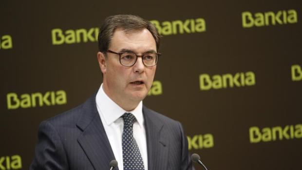 El consejero delegado de Bankia, José Sevilla, en una imagen de archivo
