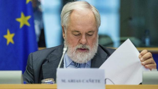 El comisario europeo de Energía, Miguel Arias Cañete