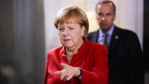 La canciller, Angela Merkel