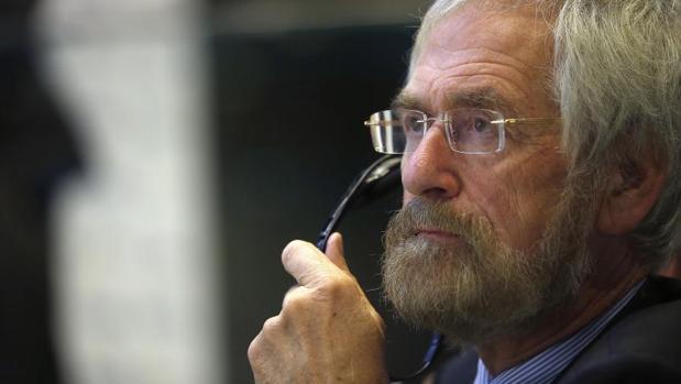El economista jefe del Banco Central Europeo, Peter Praet