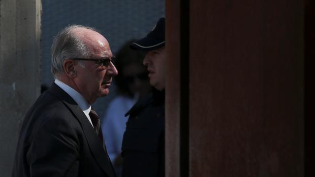 Rodrigo Rato, durante el juicio de las tarjetas «black»