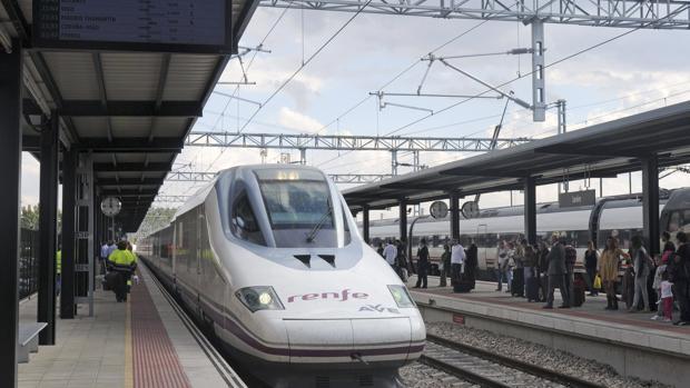 Tren de alta velocidad en León