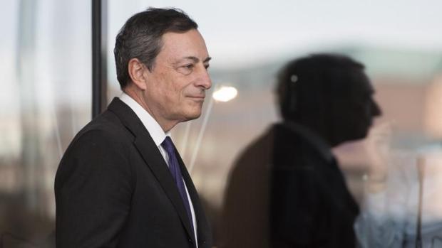 El expresidente del BCE, Mario Draghi