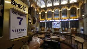 El Ibex amplía su caída semanal tras el desplome de la libra