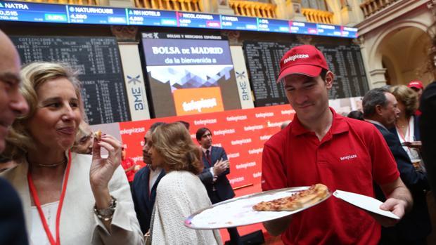 Salida a Bolsa de Telepizza