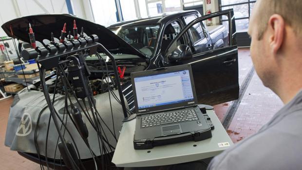 Reparación del modelo 'pick-up' Amarok de Volkswagen