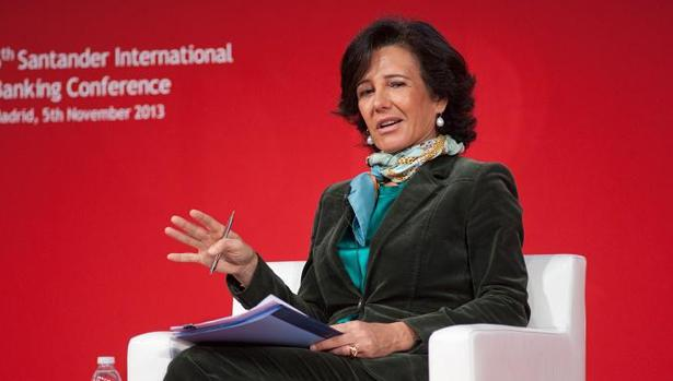 La presidenta del Banco Santander. Ana Botín