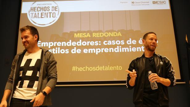 David Moreno y Francisco Pérez, dos de los fundadores de Hawkers