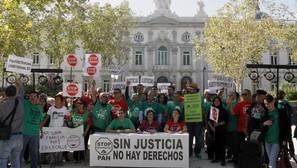 Bankia paraliza el desahucio de un matrimonio de ancianos sordomudos