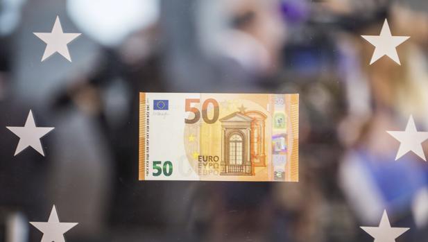 El nuevo billete de 50 euros se presentó el mes de julio