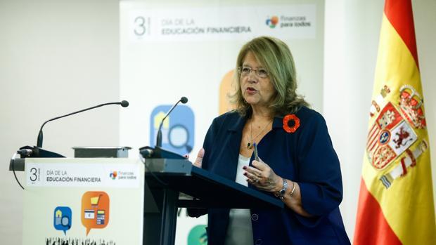 Ródriguez, expresidenta de la CNMV