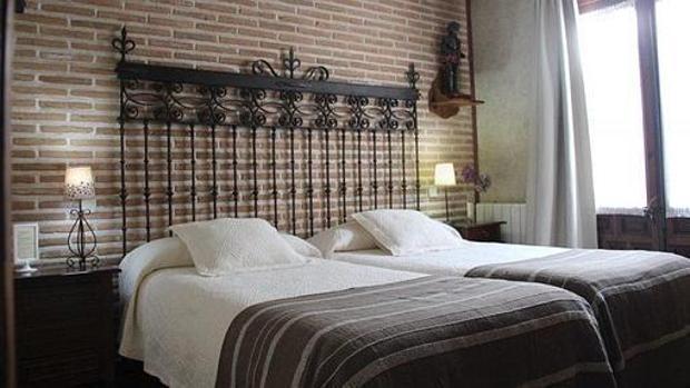 Habitación de hotel en Toledo