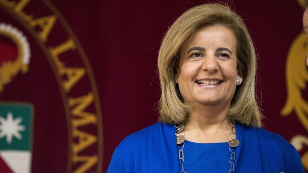 Fátima Báñez, ministra de Empleo en funciones