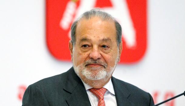 Carlos Slim, accionista mayoritario de FCC
