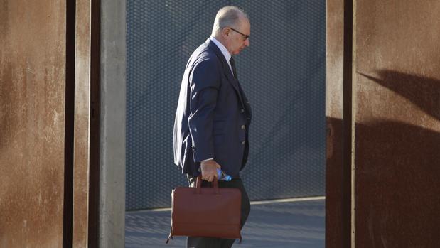 El exvicepresidente del Gobierno se enfrenta estos días al juicio por las tarjetas «black»
