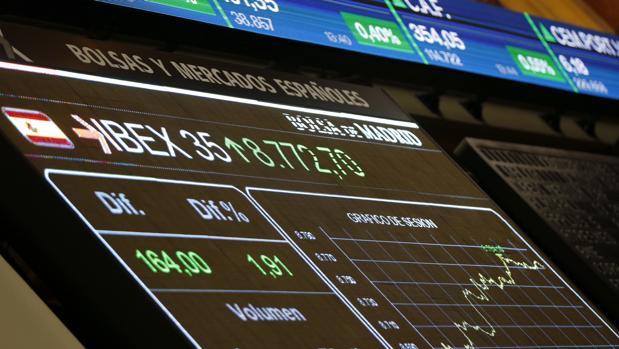 La Bolsa española ha consolidado los 8.700 puntos