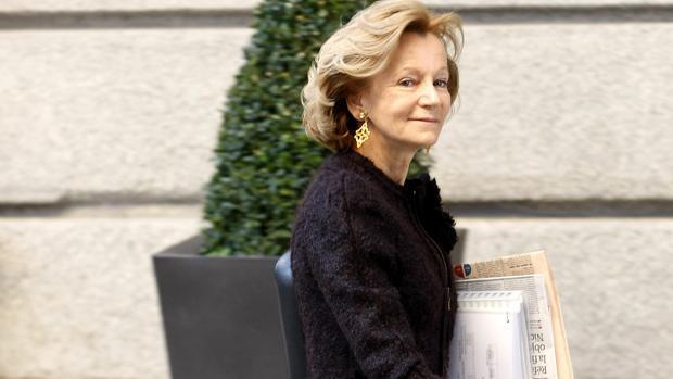 Elena Salgado era ministra de Economía cuando estalló el caso
