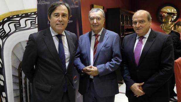Ricardo Pumar, Rufino Parra y Luis Miguel Martín Rubio