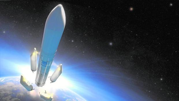 Imagen del Ariadne 6, futuro lanzador europeo en cuya fabricación ha tenido un papel relevante Airbus España
