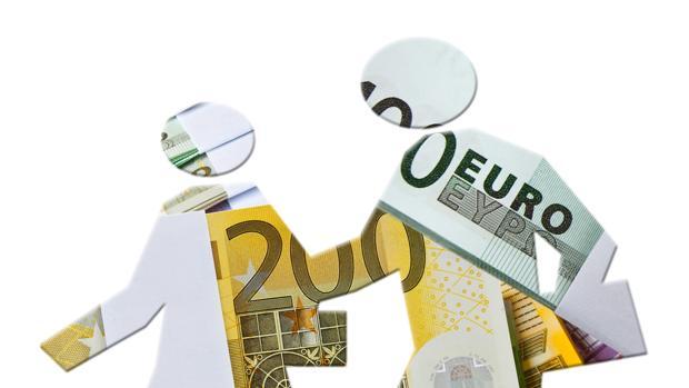 Los trabajadadores que cobran 300 euros pasaron de 3.089.856 en el año 2008 a 3.694.852 en 2014