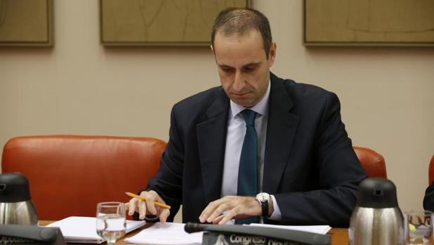 El presidente del FROB, Jaime Ponce
