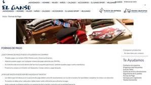 «El Ganso» implanta en su tienda online un nuevo método de pago aplazado