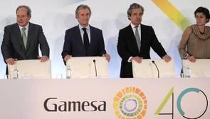 Los accionistas de Gamesa dan luz verde a la fusión con Siemens