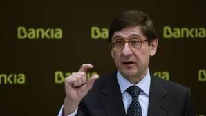El tipo medio del crédito de Bankia cae un 21%, casi el doble que la gran banca