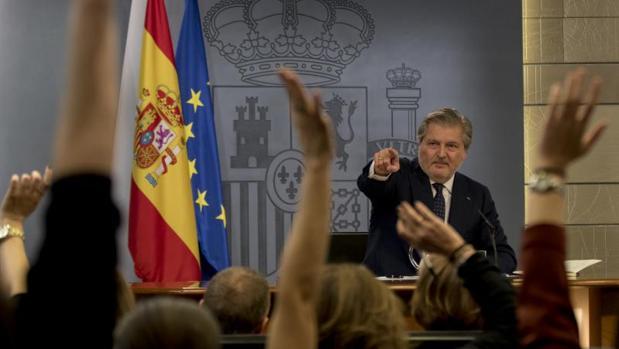El nuevo portavoz del Gobierno, Íñigo Méndez de Vigo