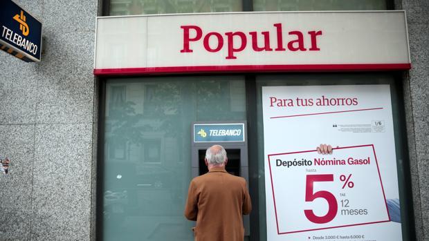 Oficina de Banco Popular en Madrid