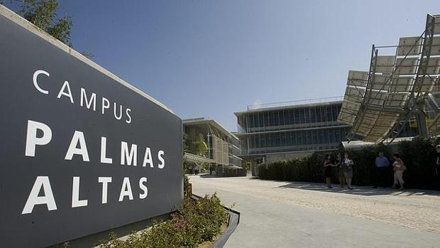 La sede de Abengoa, Palmas Altas